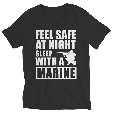 Feel safe at night sleep with a Marine Shirt/Hoodie