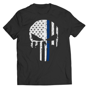 Thin Blue Line Punisher Shirt/Tank