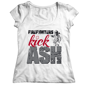 Firefighters Kick Ash Shirt/Tank/Sweatshirt