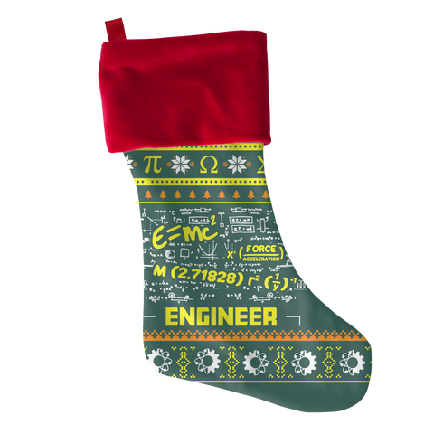Engineer Xmas Christmas Stocking