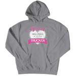 """My Heart Belongs to A Trucker"" Hoodie"