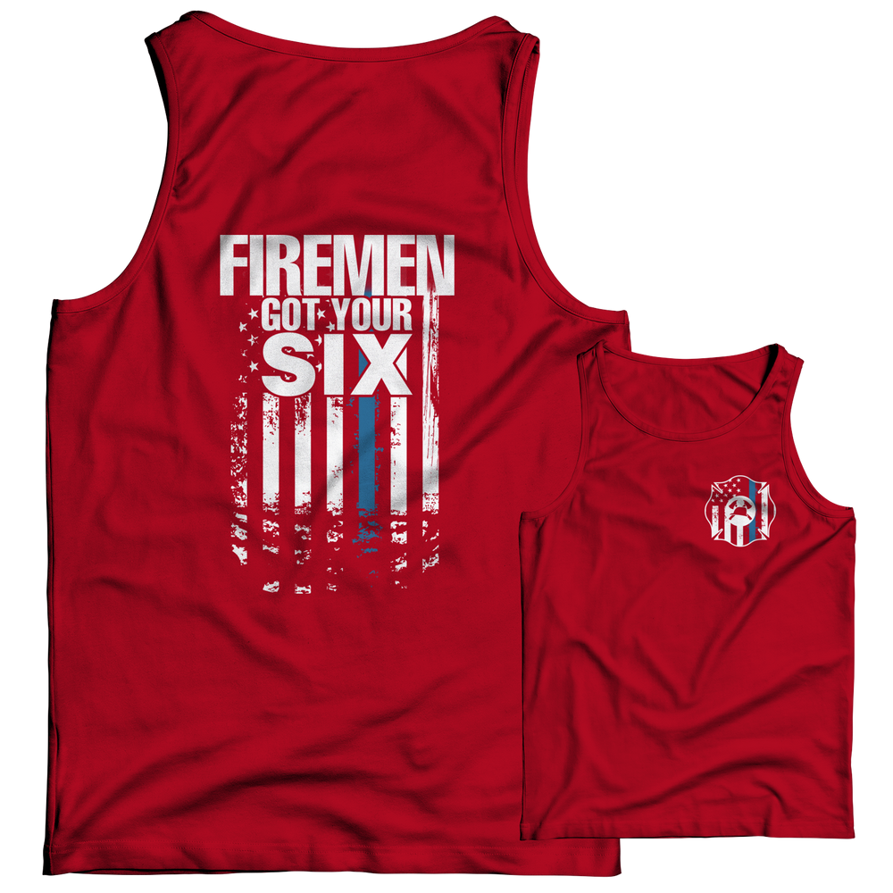 Firemen Got Your Six Tank Top