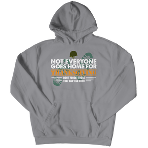 Not Everyone Goes Home For Thanksgiving Youth Hoodie