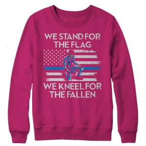 We Stand For The Flag Crewneck Fleece