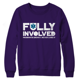Limited Edition - Fully Involved EMS Crewneck Fleece
