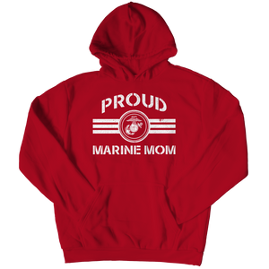 Limited Edition - Proud Marine Mom Hoodie