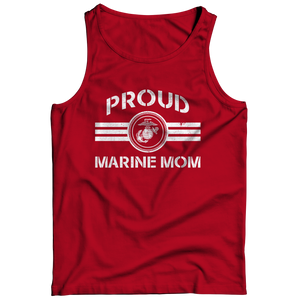 Limited Edition - Proud Marine Mom Tank Top