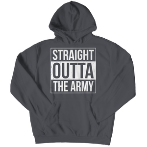 Limited Edition - Straight Outta the Army Hoodie