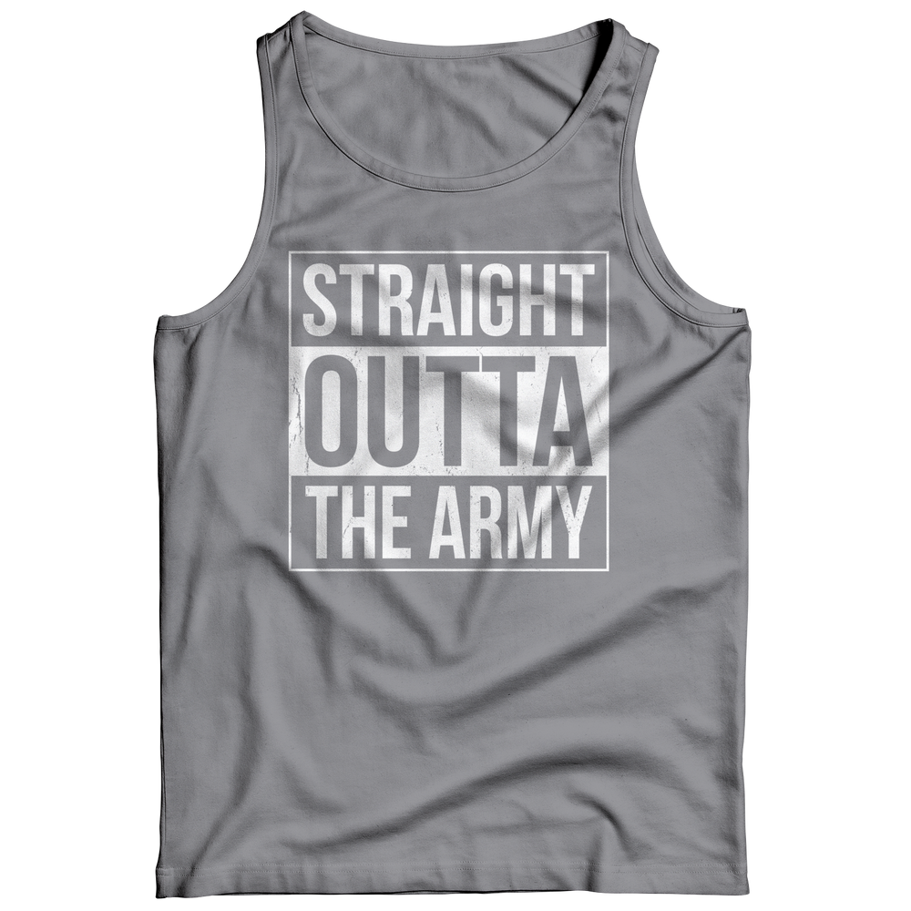 Limited Edition - Straight Outta the Army Tank Top