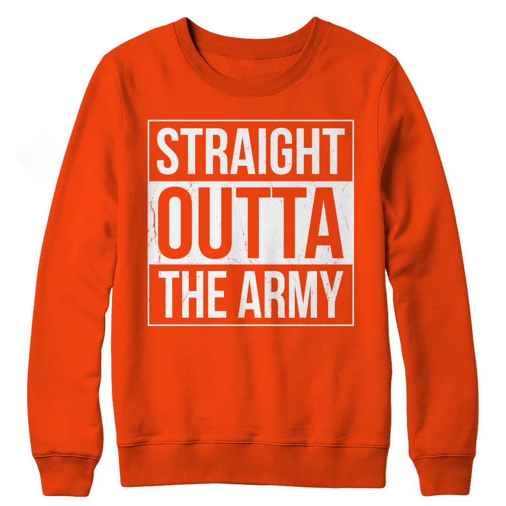 Limited Edition - Straight Outta the Army Crewneck Fleece