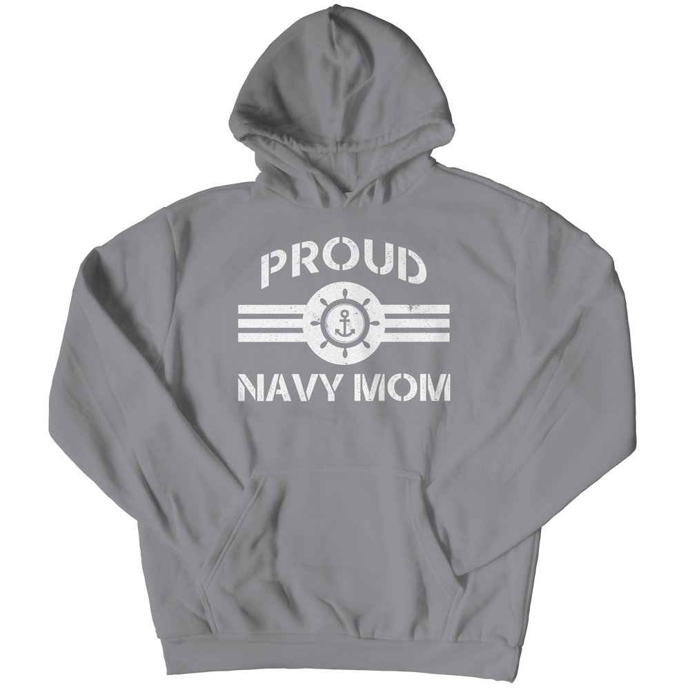 Limited Edition - Proud Navy Mom Hoodie