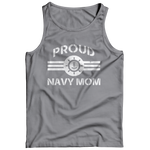 Limited Edition - Proud Navy Mom Tank Top