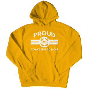 Limited Edition - Proud Coast Guard Mom Hoodie