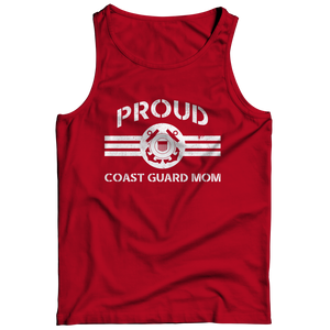 Limited Edition - Proud Coast Guard Mom Tank Top