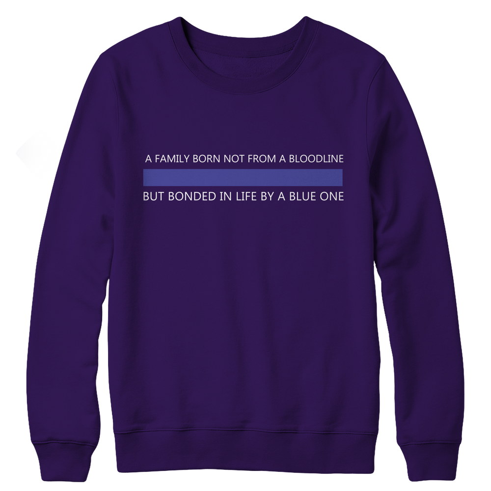 A Family Born Not From A Bloodline Crewneck Fleece