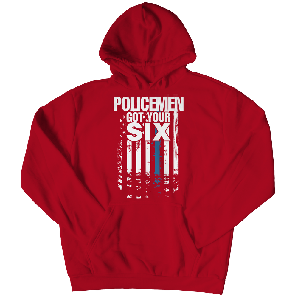 Limited Edition - Policemen Got Your Six Hoodie