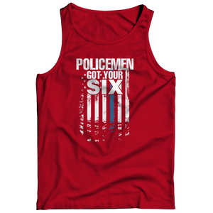 Limited Edition - Policemen Got Your Six Tank Top