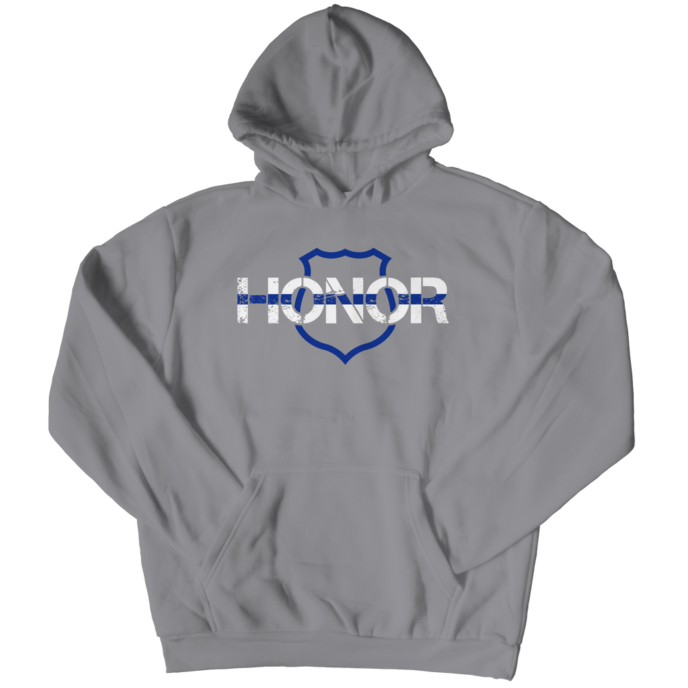 Honor-Thin Blue Line Hoodie