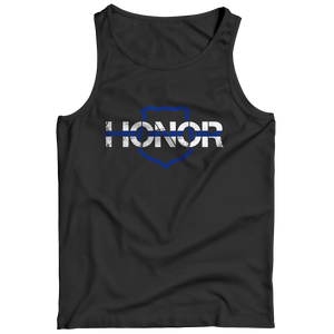 Honor-Thin Blue Line Tank Top