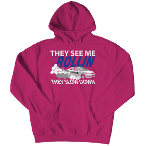 Limited Edition -  They see me rollin, they slow down Hoodie