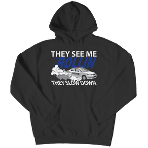 Limited Edition -  They see me rollin, they slow down Youth Hoodie