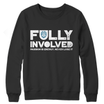 Limited Edition - Fully Involved POLICE Crewneck Fleece
