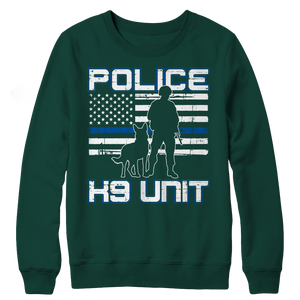 Police K9 Unit Crewneck Fleece