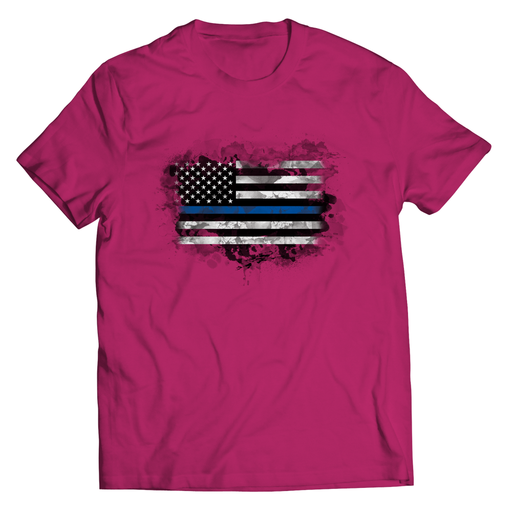 Limited Edition - Heart Blue Flag Shirt