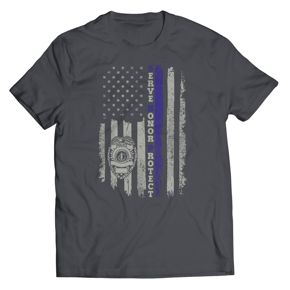 Limited Edition - Serve Honor Protect Flag Shirt