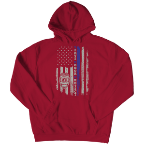 Limited Edition - Serve Honor Protect Flag Hoodie