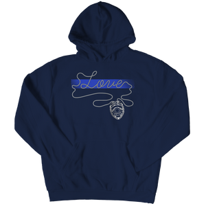 Limited Edition - Thin Blue Line Love Hoodie