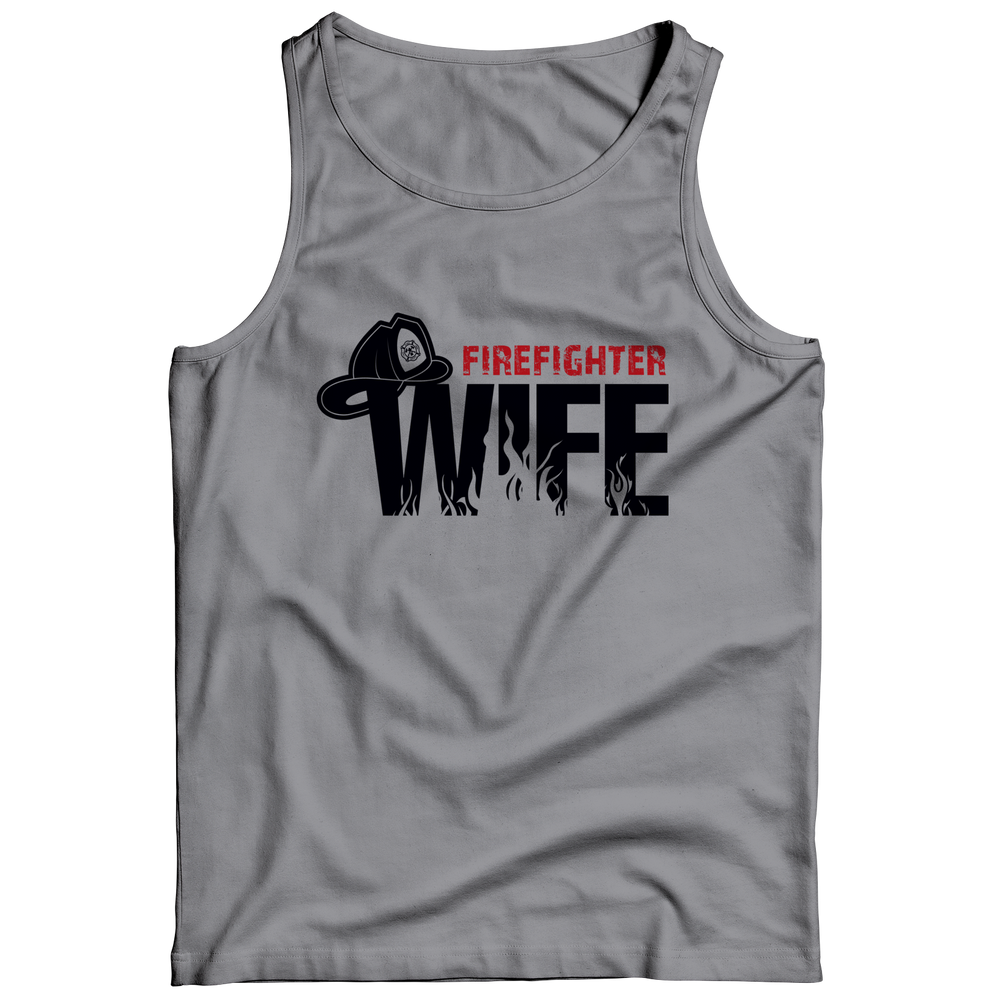 Firefighter Wife Tank Top
