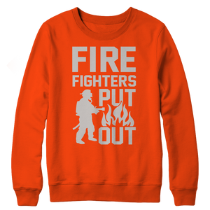 Limited Edition - FireFighters Put Out Crewneck Fleece