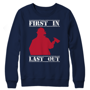 Limited Edition - First In Last Out Crewneck Fleece