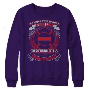 Limited Edition - Family Crest Crewneck Fleece