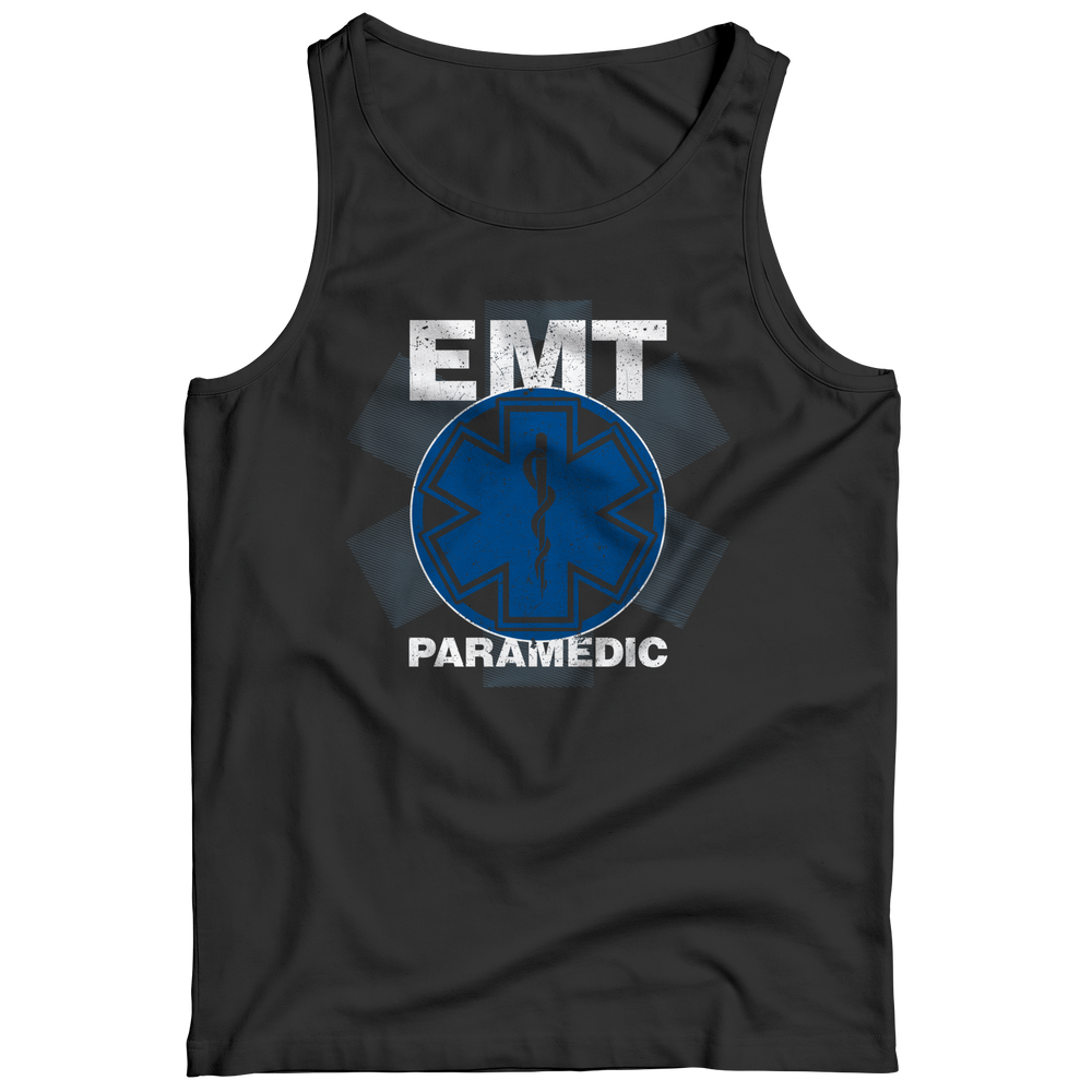 EMT Paramedic Distressed Tank Top
