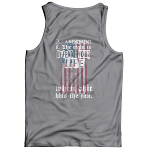 Limited Edition - 2nd Amendment The Right To Defend Your Life Tank Top