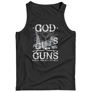 Limited Edition - God Guts Guns Tank Top