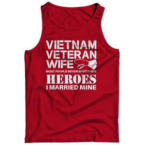 Limited Edition - Vietnam Veteran Wife Tank Top