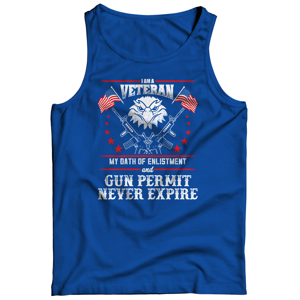 Limited Edition - I Am A Veteran Tank Top