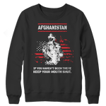 Afghanistan Veteran Crewneck Fleece