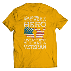Save One Life You Are A Hero Shirt