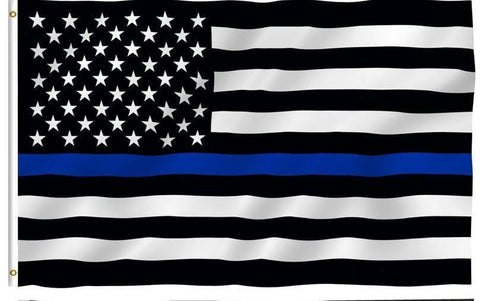 United States Police Force Flag