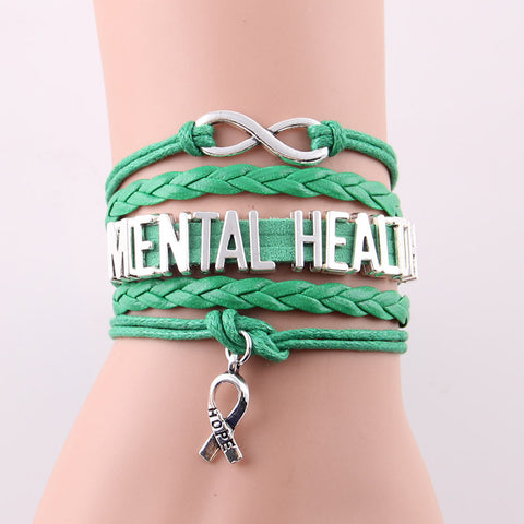 Mental Health Awareness Empowerment Bracelet