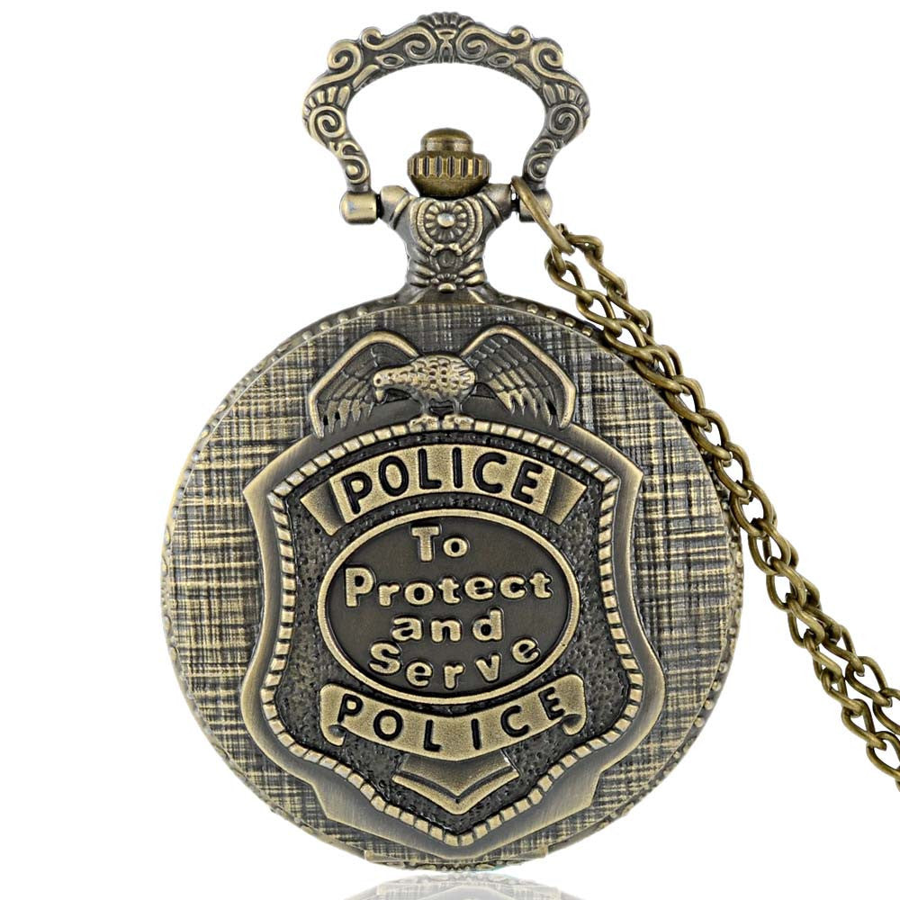 Vintage Police Pocket Watch