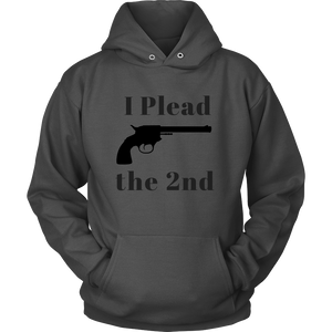 I Plead the 2nd Shirt/Tank/Hoodie [Black]