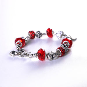 34289bbe6c141 Red Firefighter Charm Bracelet