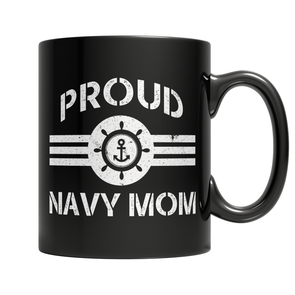 Limited Edition - Proud Navy Mom Mug