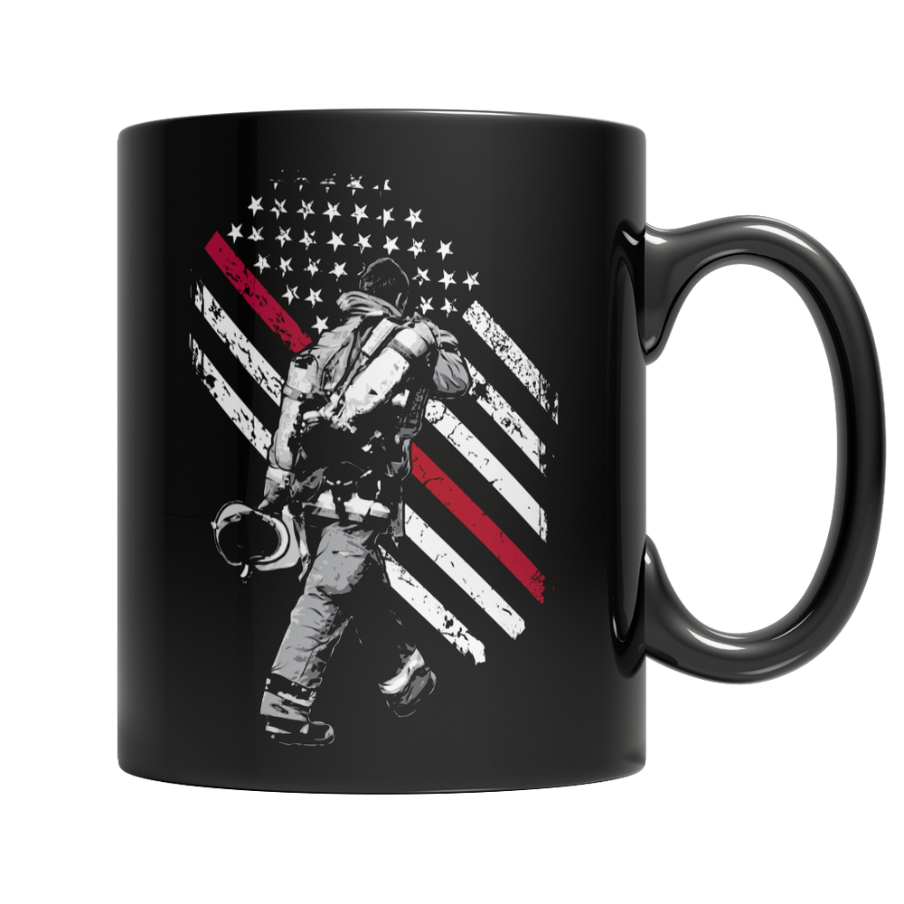 Firefighter Exclusive Thin Red Line Mug