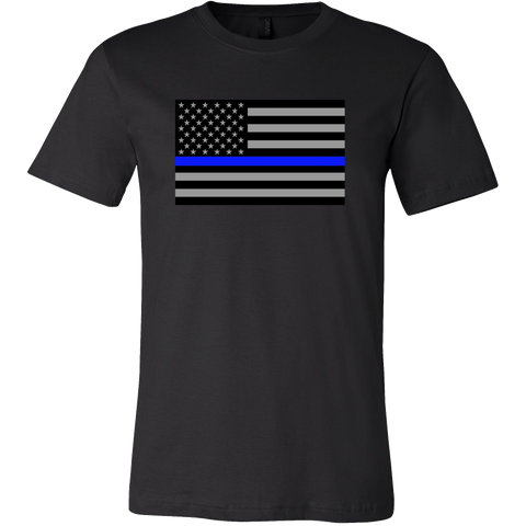 Blue Line Flag Shirt (Men/Women)